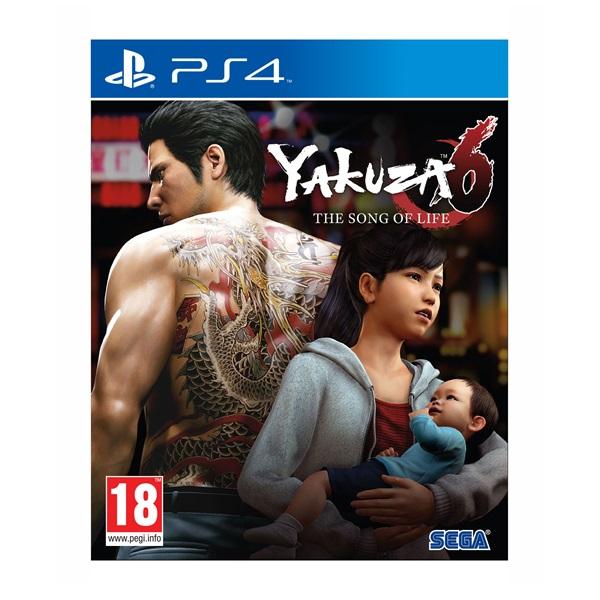 Yakuza 6: The Song Of Life - Essence Of Art Edition PS4 játékszoftver - 1