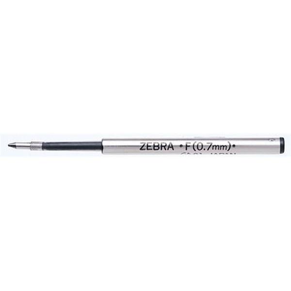 Zebra F 0,7mm fekete golyóstoll betét - 1