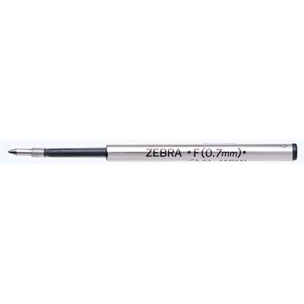 Zebra F 0,7mm kék golyóstoll betét - 1