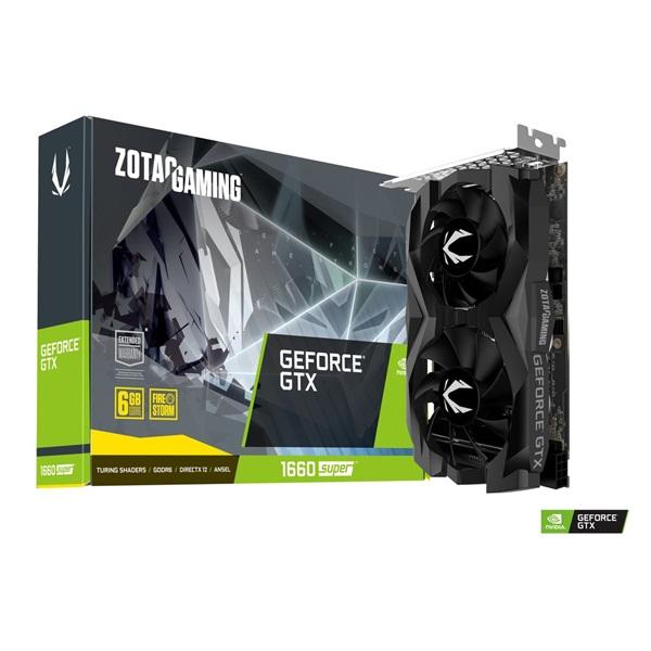 Zotac GAMING GeForce GTX 1660 SUPER nVidia 6GB GDDR6 192bit  PCIe videokártya - 1