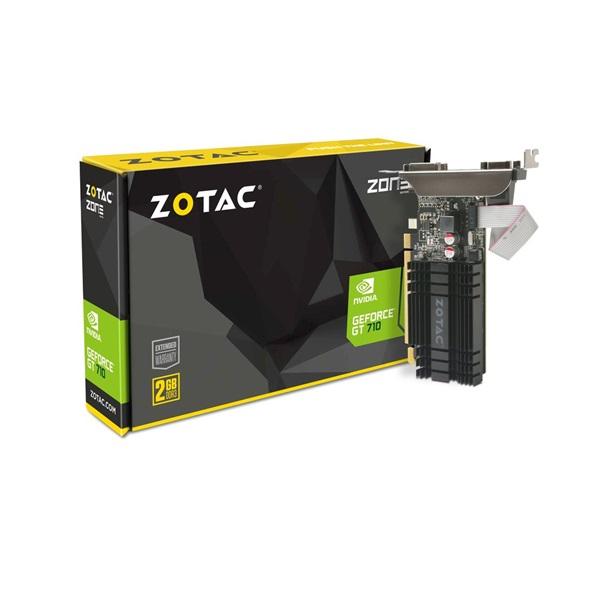 Zotac GeForce GT 710 Zone Edition nVidia 2GB DDR3 64bit  PCIe videokártya - 1