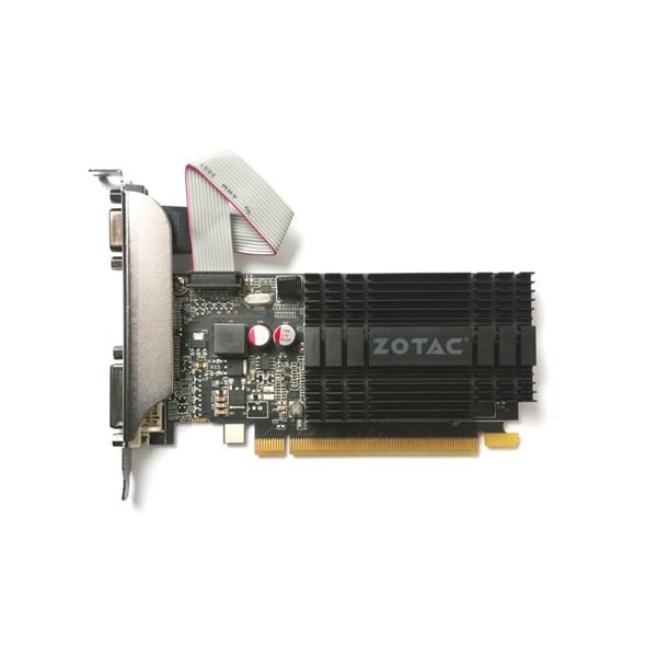 Zotac GeForce GT 710 Zone Edition nVidia 2GB DDR3 64bit  PCIe videokártya - 2