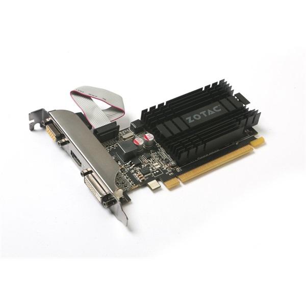Zotac GeForce GT 710 Zone Edition nVidia 2GB DDR3 64bit  PCIe videokártya - 3