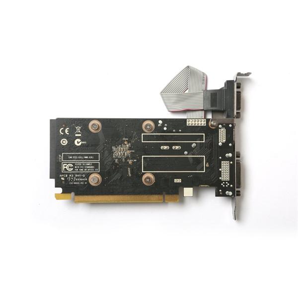 Zotac GeForce GT 710 Zone Edition nVidia 2GB DDR3 64bit  PCIe videokártya - 5