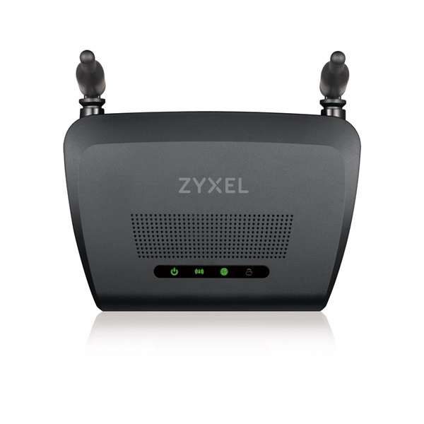 ZyXEL NBG418Nv2 N300 Vezeték nélküli Router - 3